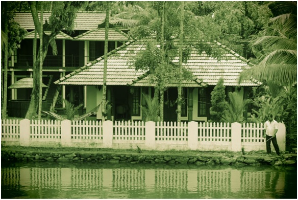 Alleppey Houseboat View