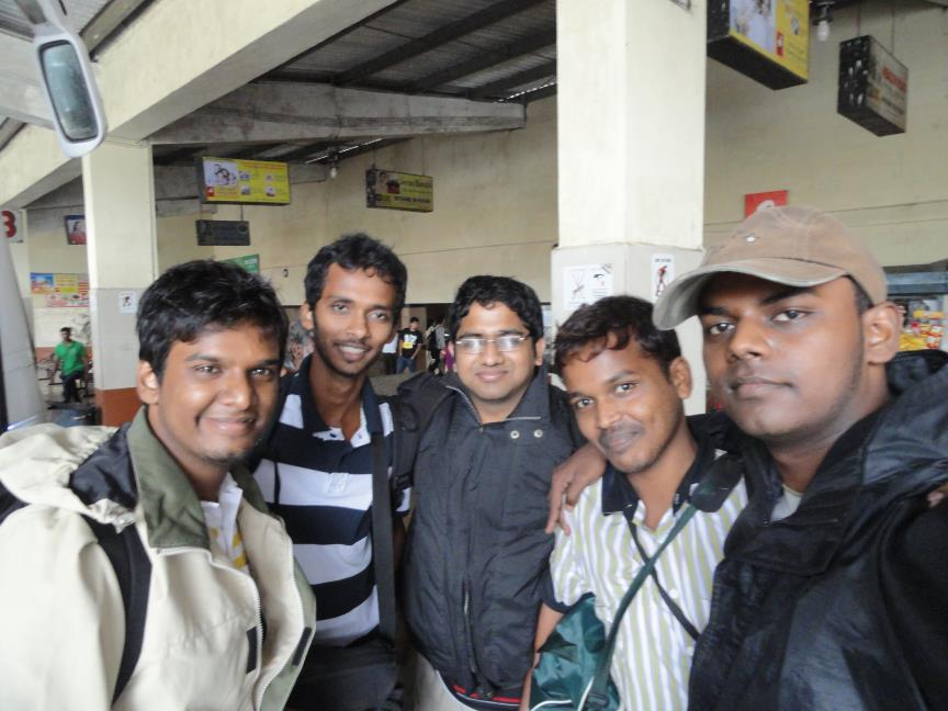 First Snap at Coorg - Bus Depot