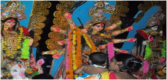Durga Puja at Kheydaya – Our Ancestral House