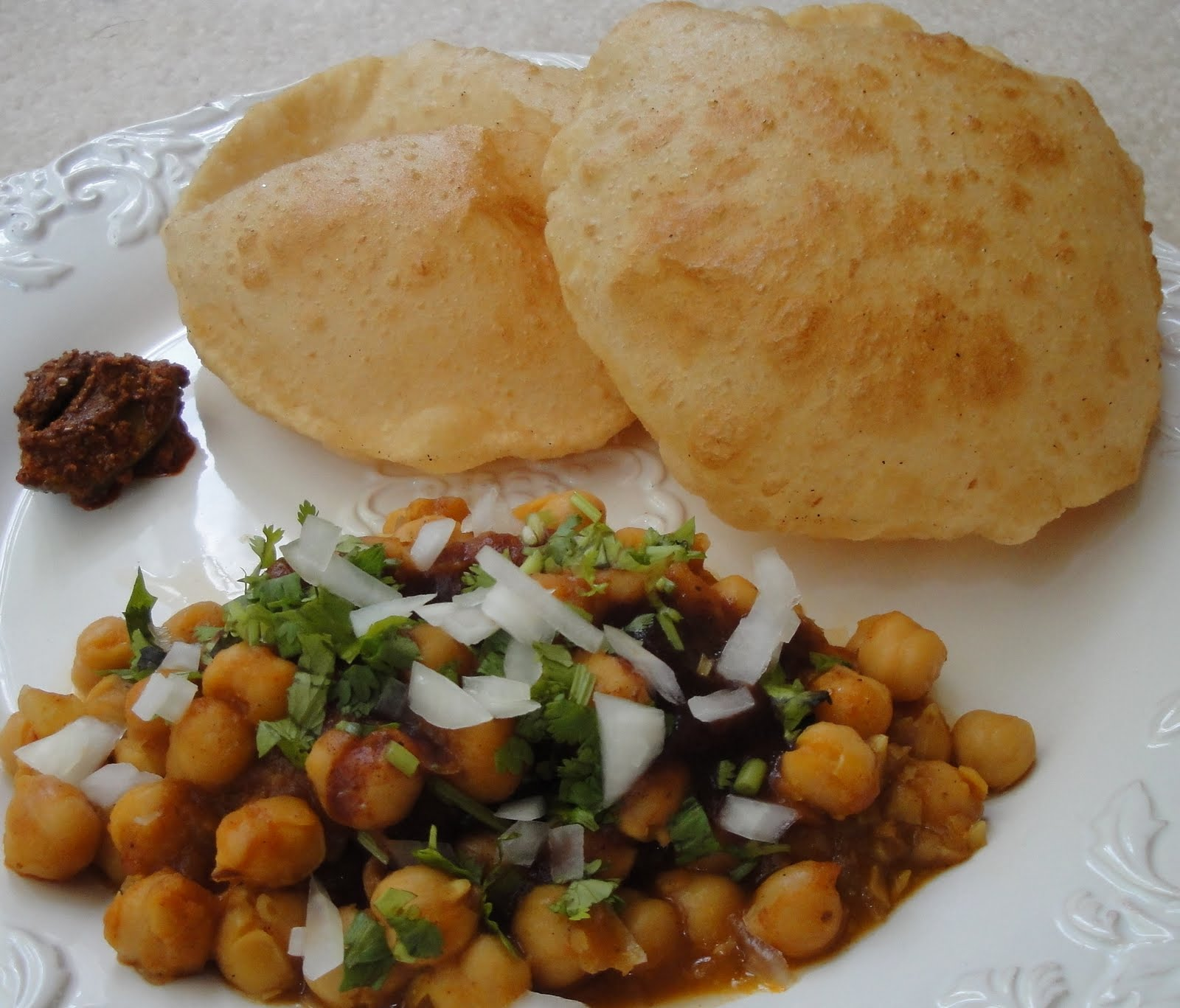 The mouth watering street foods of india padhaaro blog chole bhature image credits indiamarks forumfinder Image collections