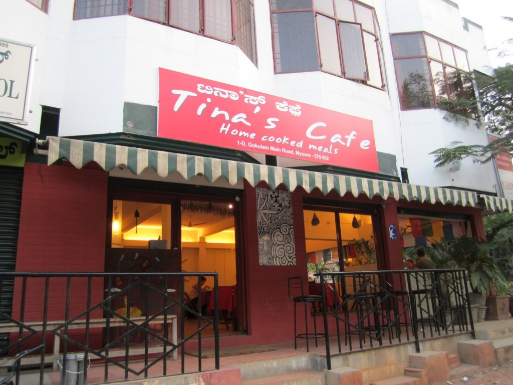 Tina's Cafe in Mysore
