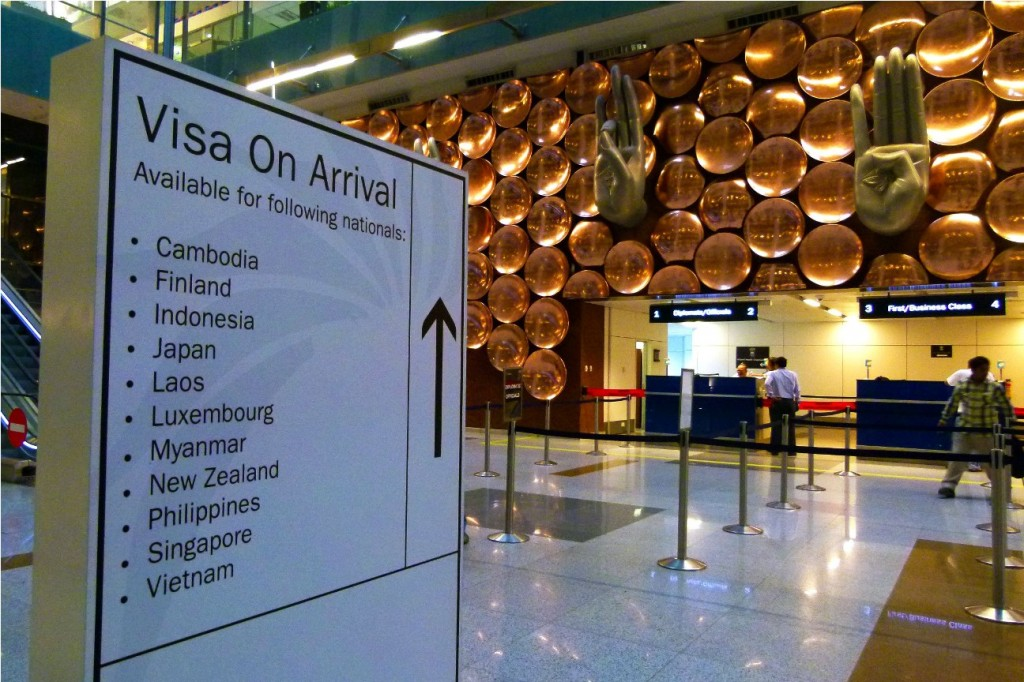 Visa on Arrival was only available for the above mentioned countries until now