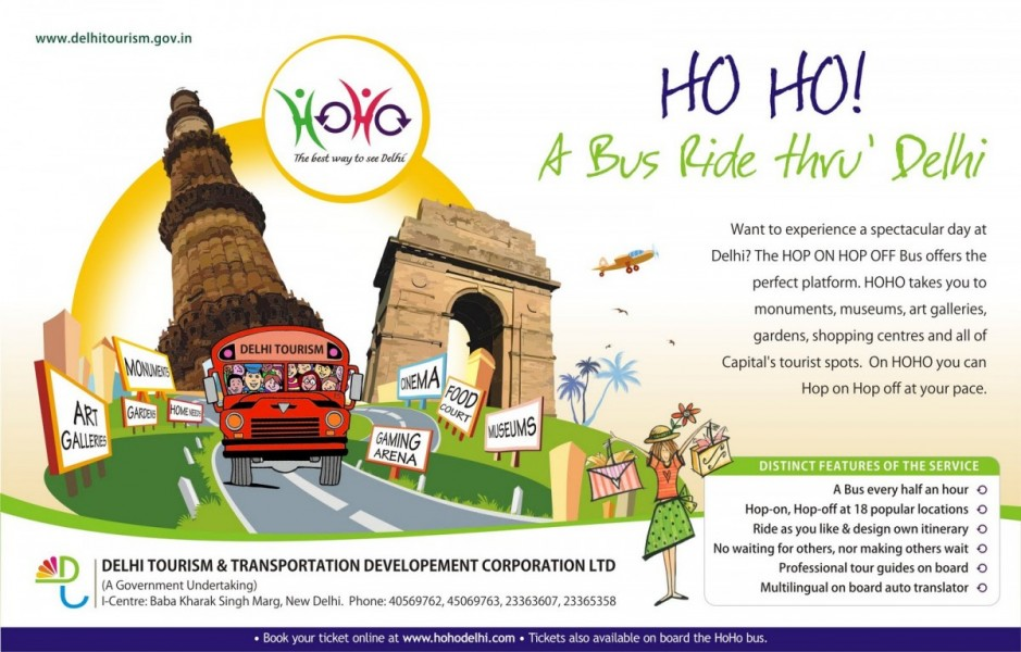 There's nothing better than the Hop-on Hop-off Bus in Delhi