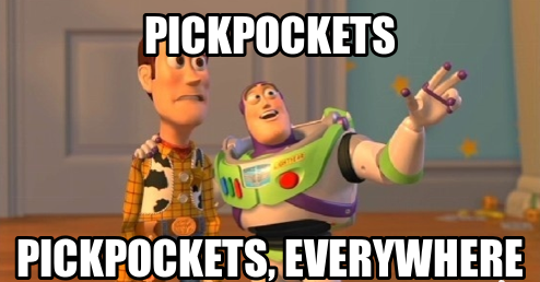 pickpockets in delhi