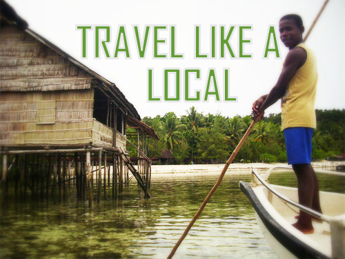 Why traveling with a local is much more enriching?