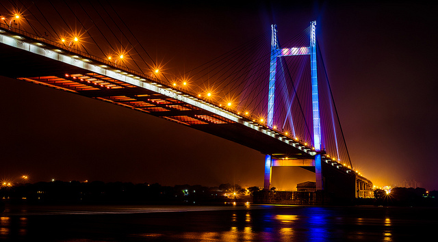 Hoogley Bridge Kolkata