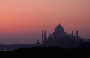 The beauty of Taj