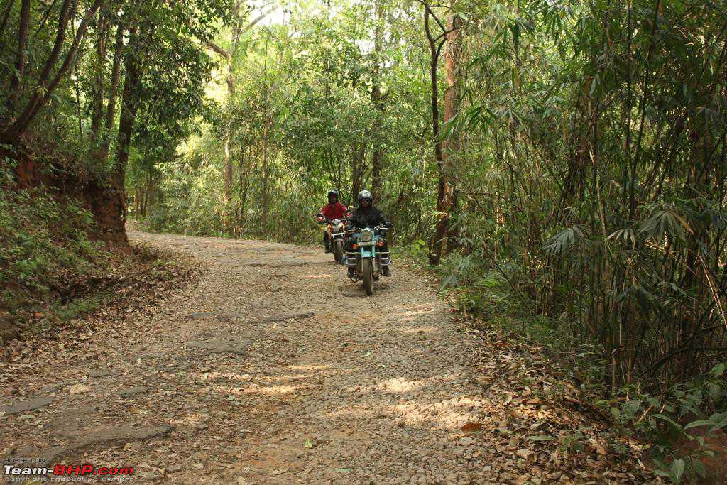 Biking South India