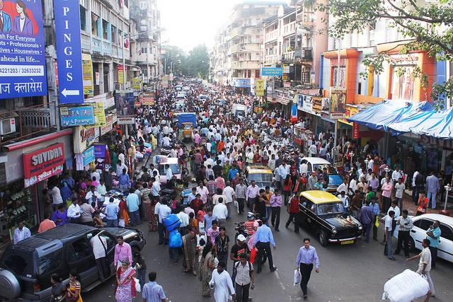Mumbai Crowd