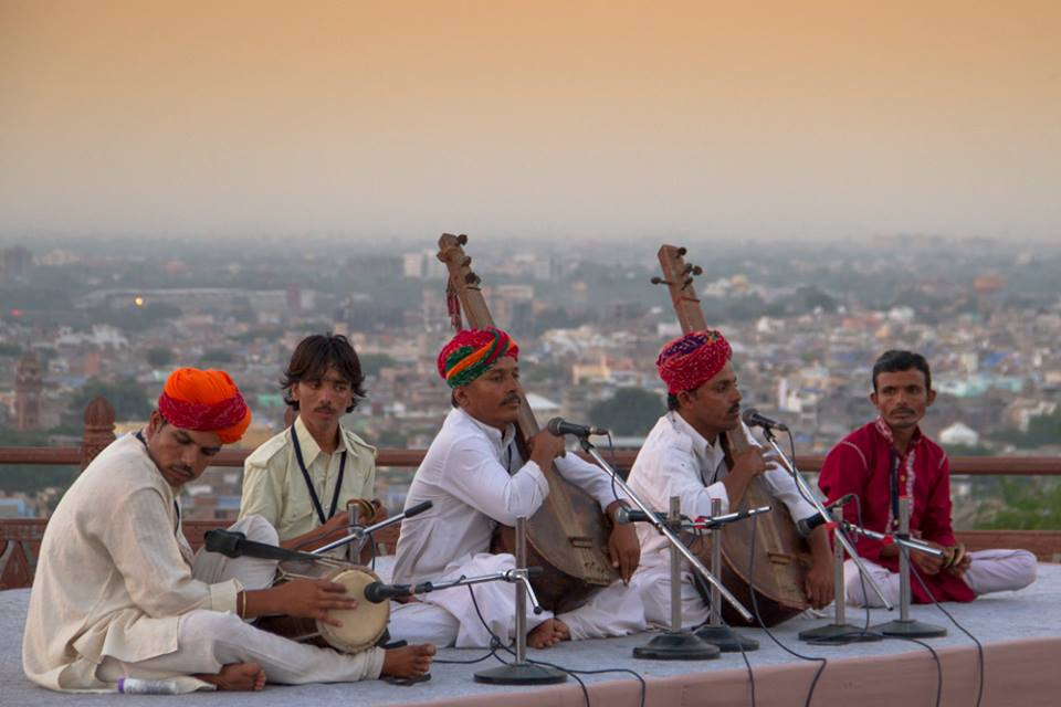Music at Jodhpur RIFF