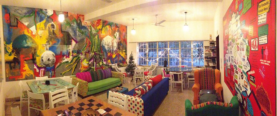 Common Room at Moustache Hostel