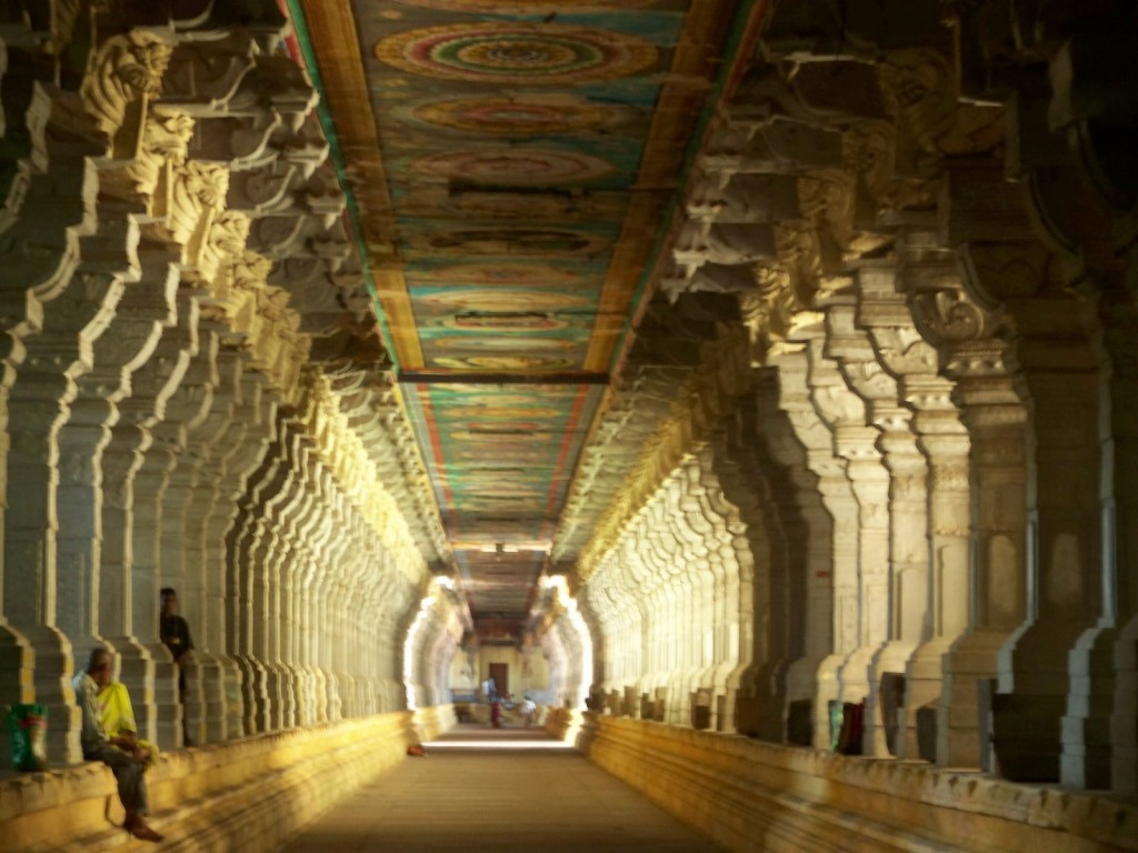 1000 pillar hall in Meenakshi Temple