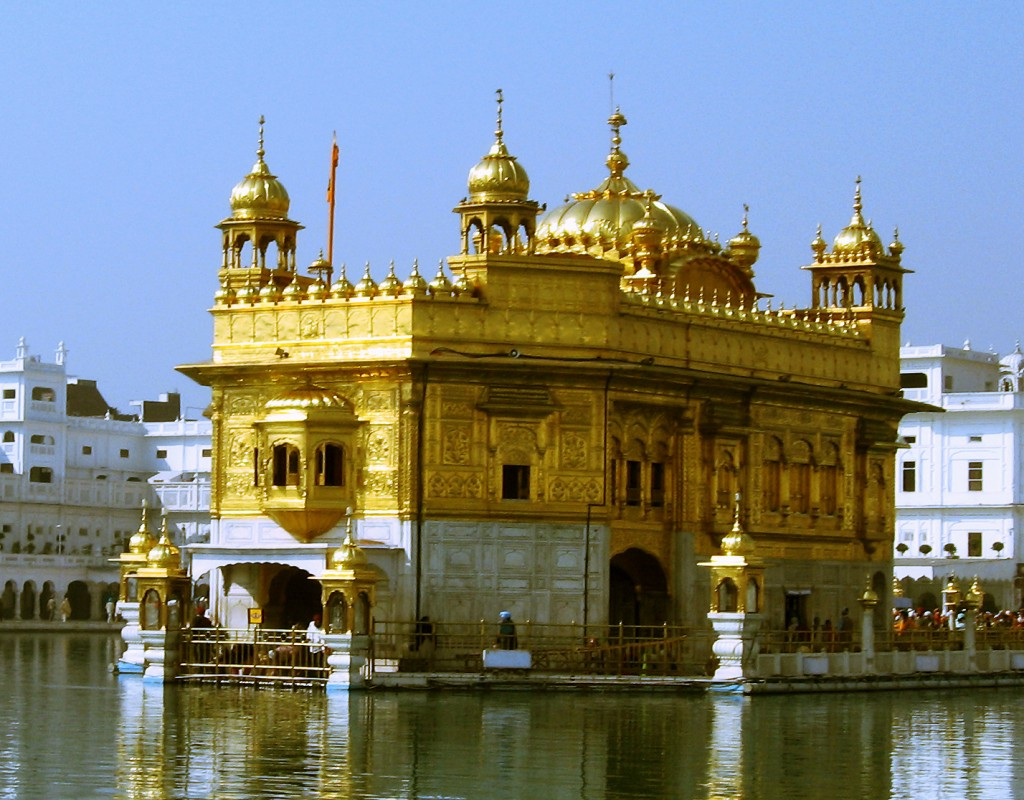 The holy Harmandir Sahib