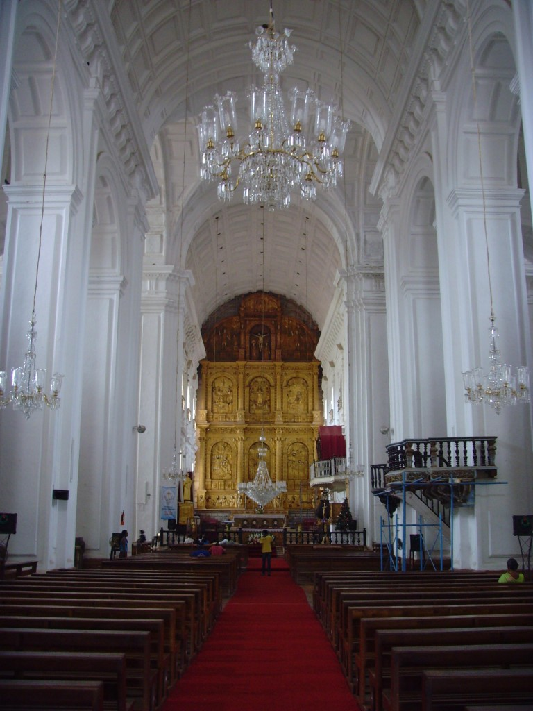 Interior of Se' Cathedral