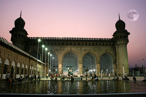 Makkah Masjid in Hyderabad