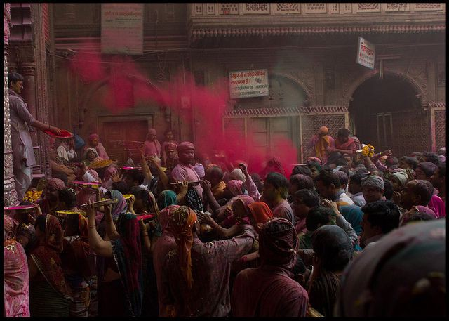 Holi at Braj