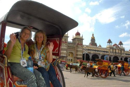 foreigners in mysore