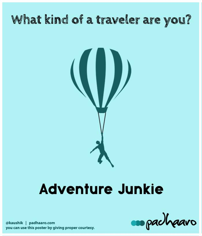 What kind of a Traveler are you?