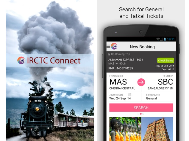 5 Apps to ease your Train Travel in India