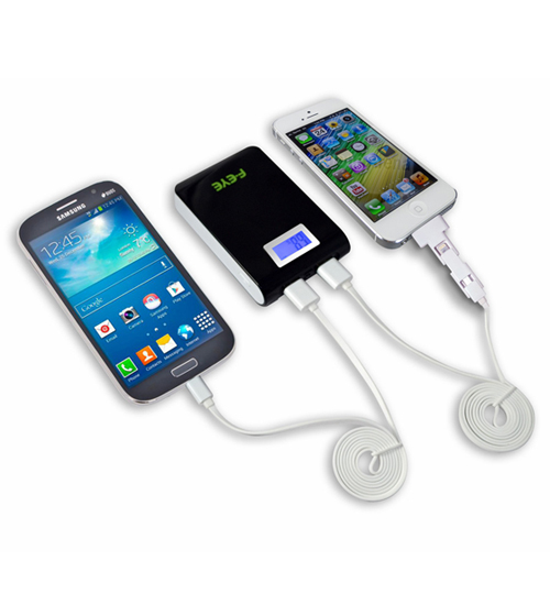 A dual port charger.