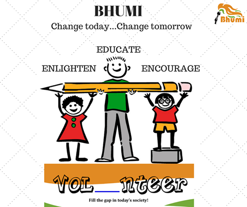 Bhumi-NGO-volunteer