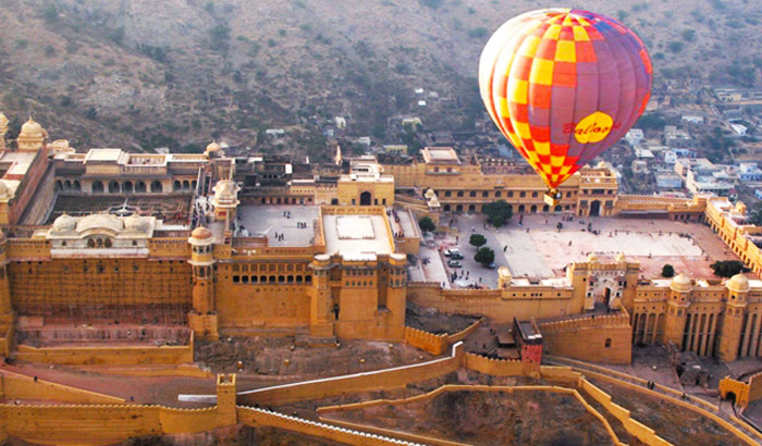 Hot Air Balloon Rides in jaipur