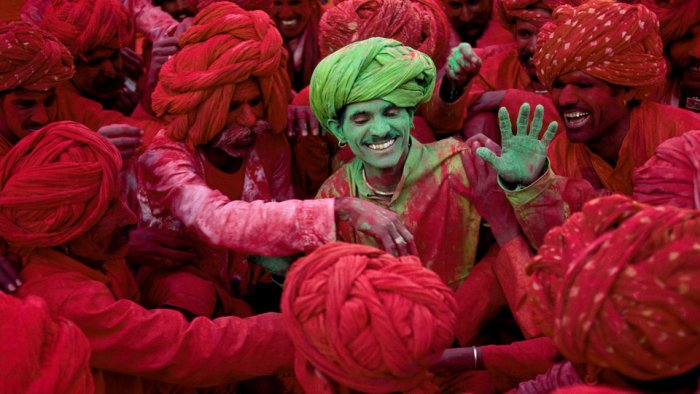 Rajasthan holi celebration- Jaipur