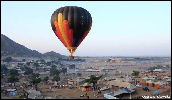 Hotair-Balloon ride in Delhi NCR