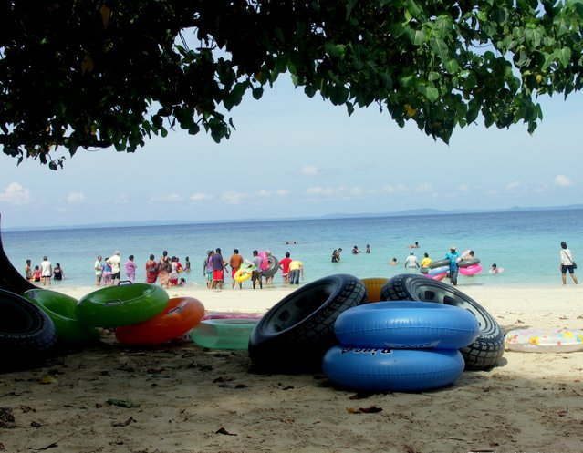snorkelling in andamans