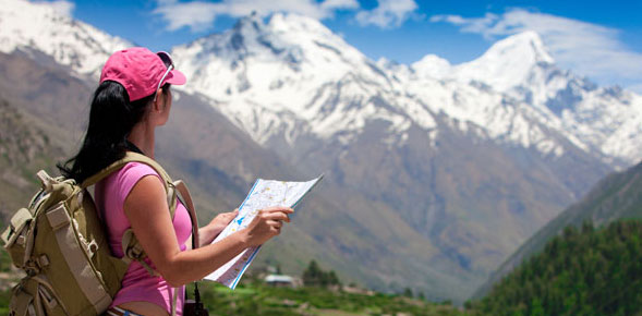 Essential itinerary and guide maps for female travelers
