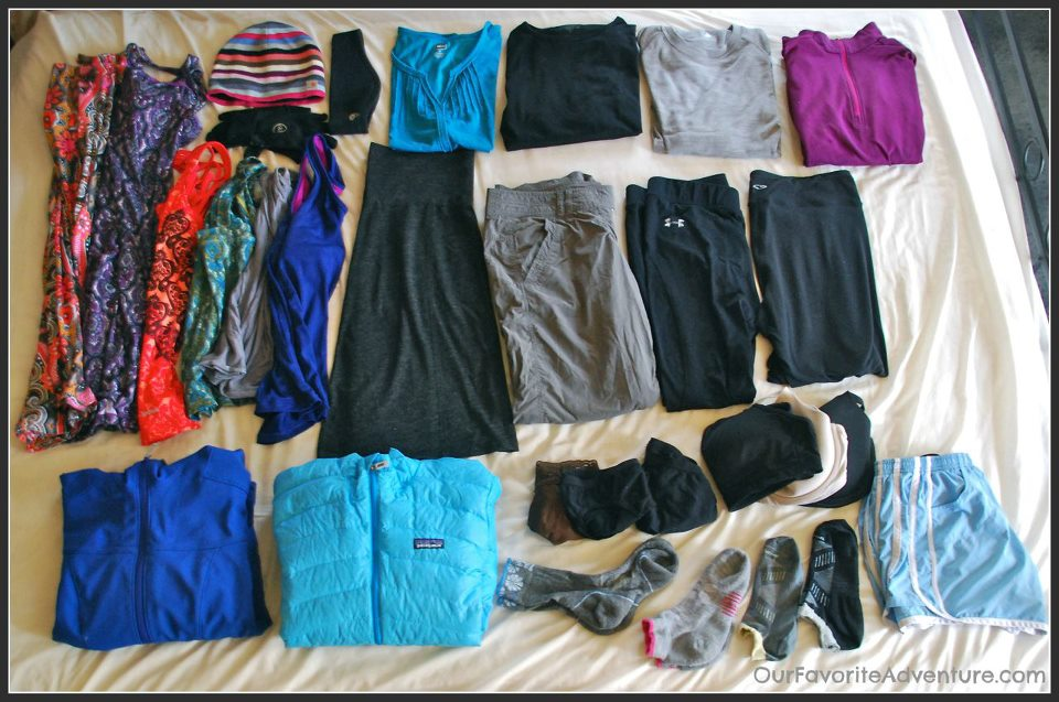 clothes for female travellers in India