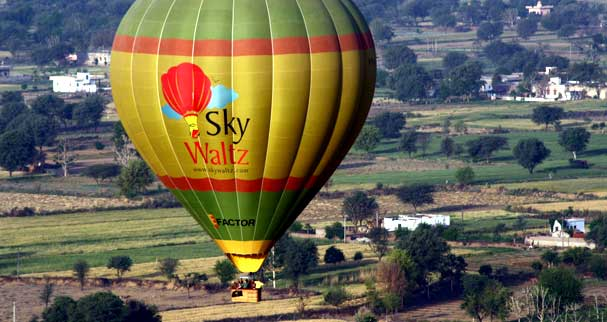 Hot air balloon ride in lonavla