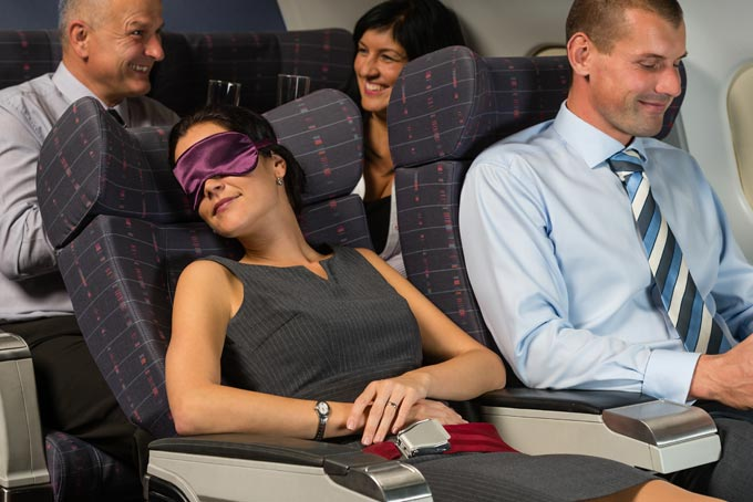 Sleep your way through the journey. Image source: skyscanner.com