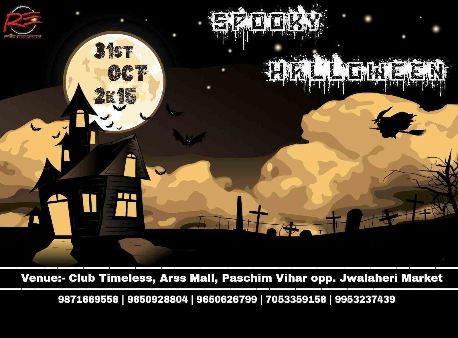Halloween Hungama : Top places for Halloween 2015 in India ...