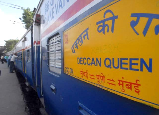 The Deccan Queen : 12123 and 12124