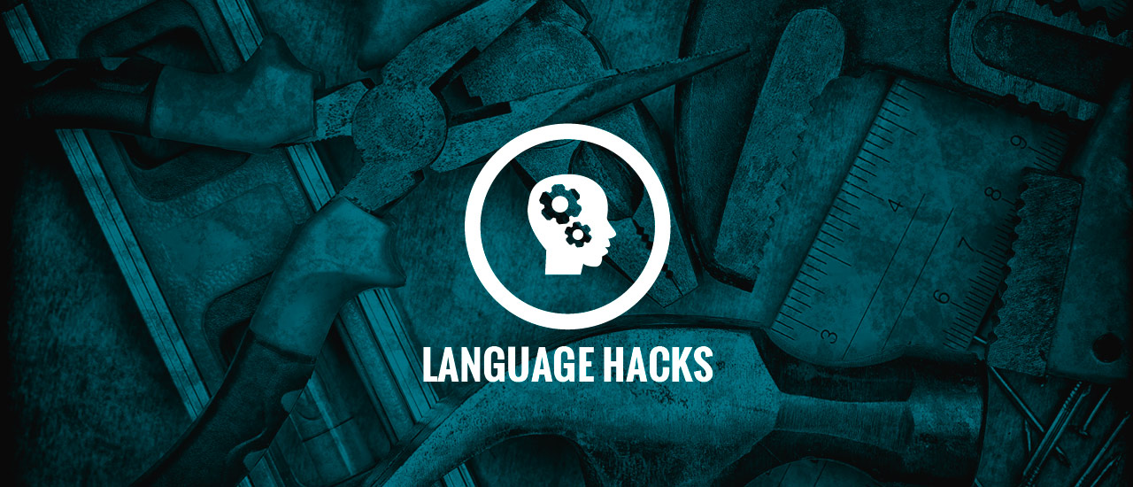Basic Language Hacks to survive in a New City