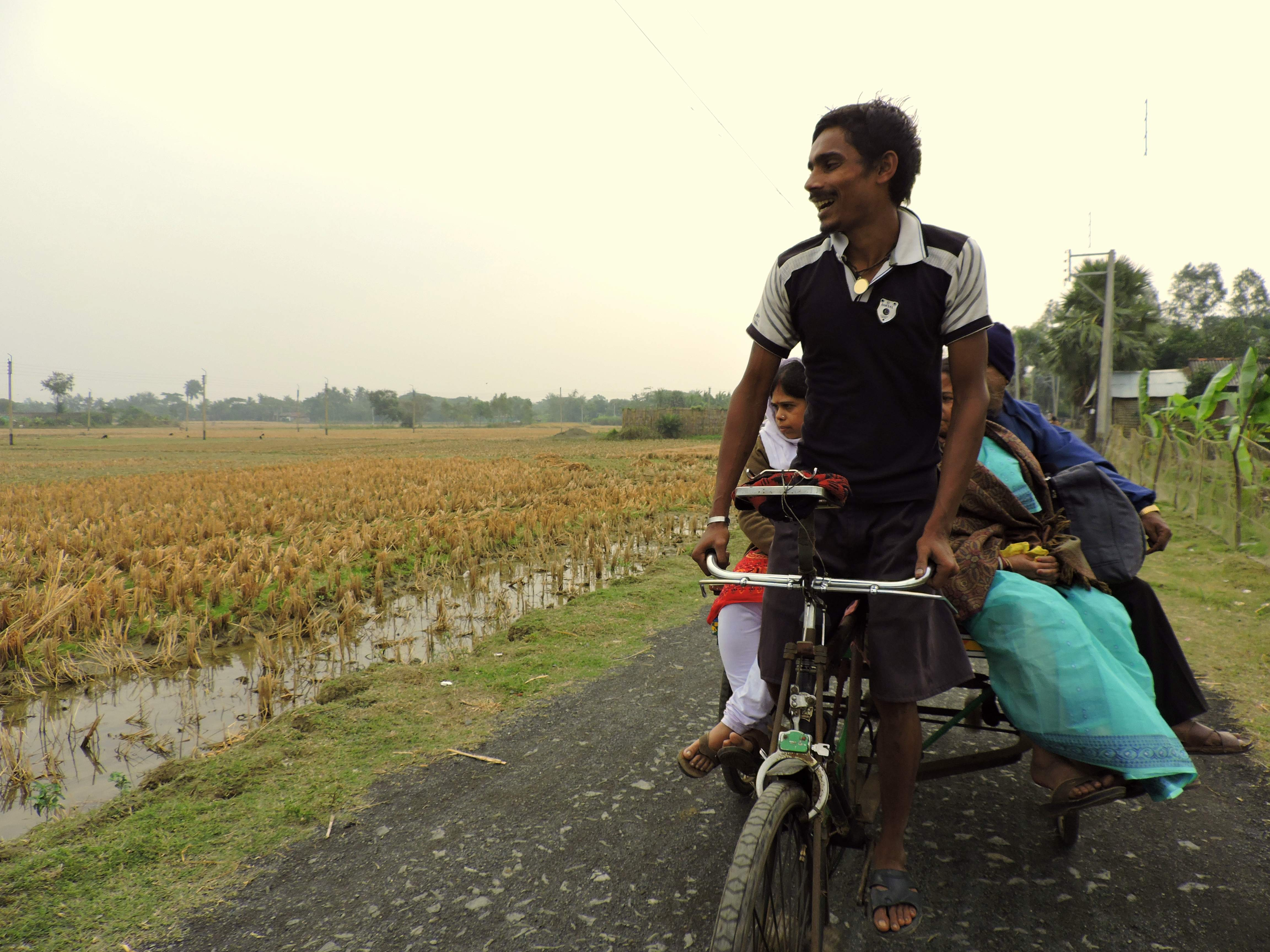 The journey through the rural areas gave us plenty to see!