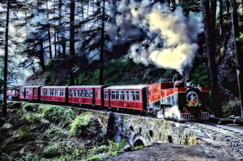 toy train kalka-shimla