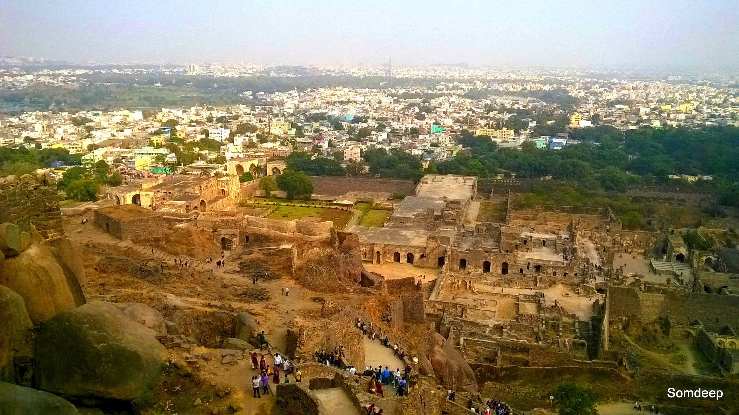 Scenes from Golconda