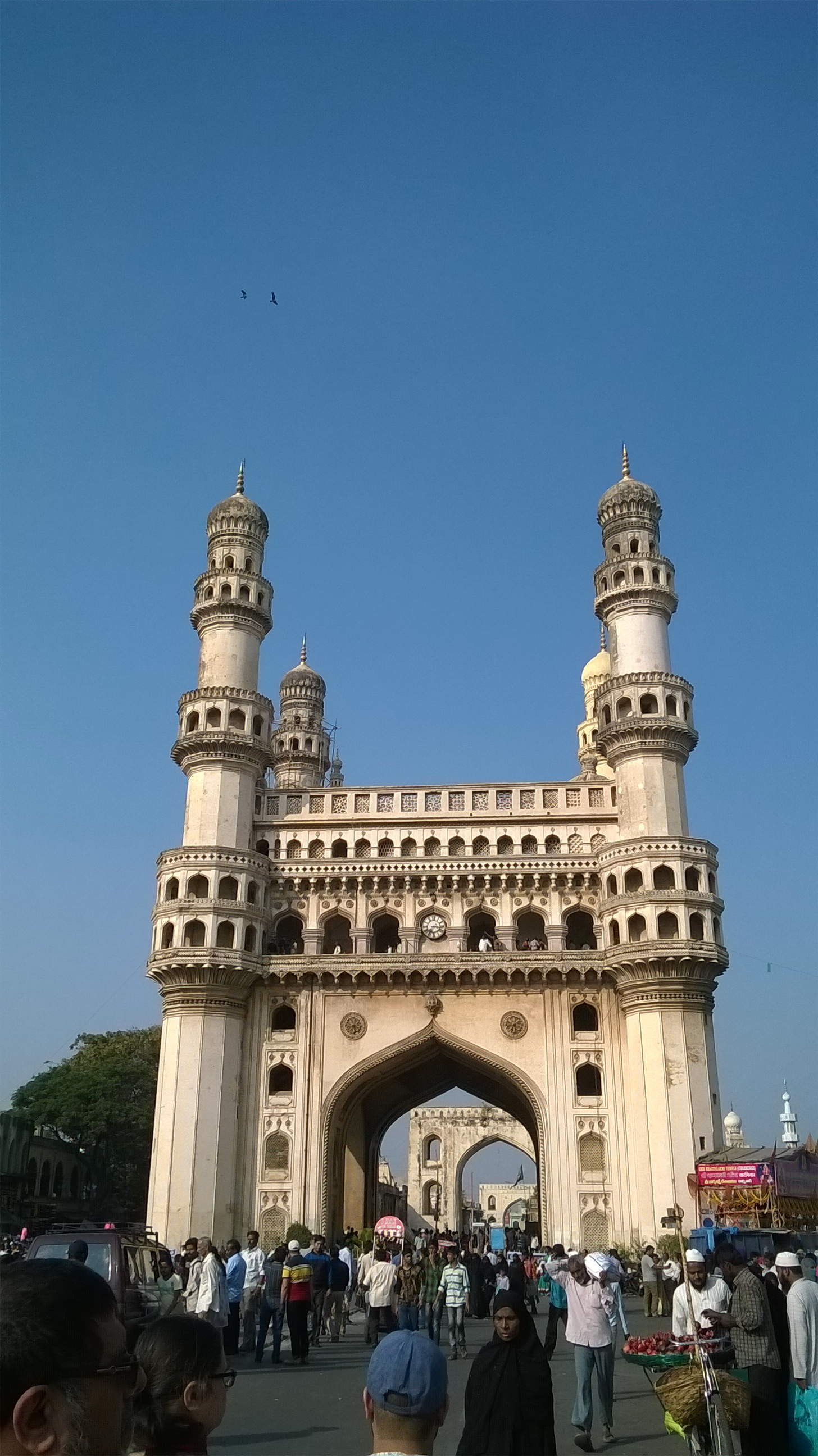 The Charminar in its prominence!